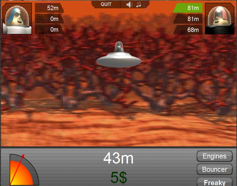 Игра Micro olimpics on mars онлайн