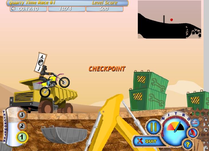 Игра Moto Rush 2 онлайн