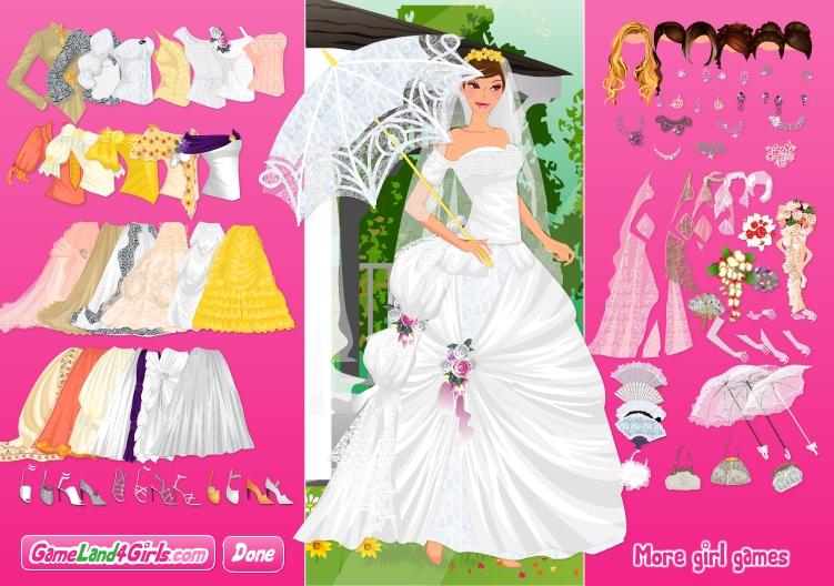 Игра My Romantic Victorian Wedding онлайн