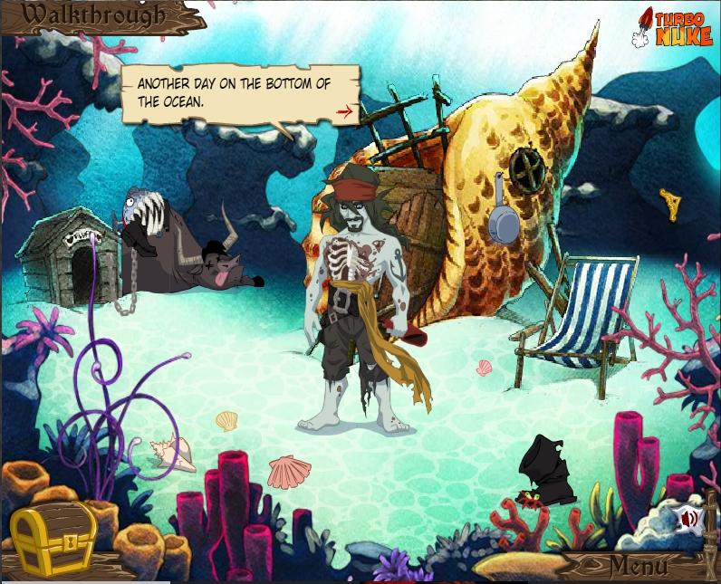 Игра Pirates of the Undead Sea онлайн