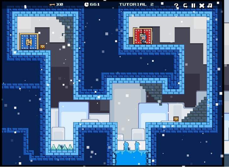 Игра Pixel Quest: The Lost Gifts онлайн