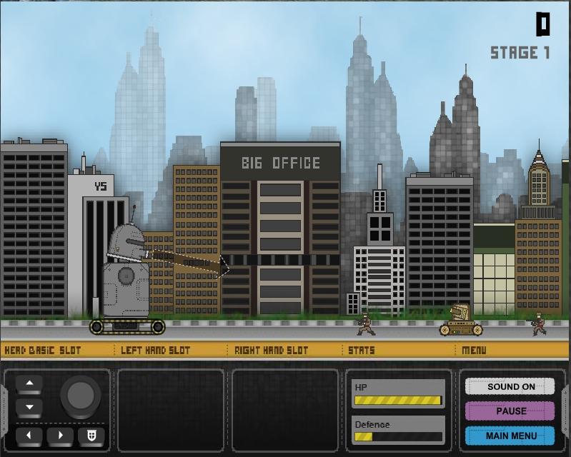 Игра RC Warobo онлайн