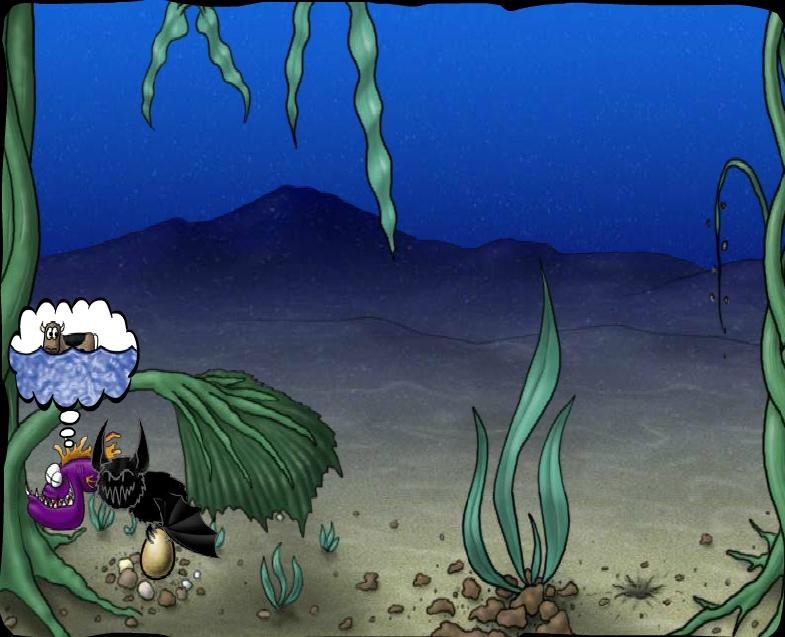 Игра The Sea Of Glomp онлайн