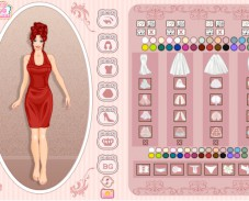 Игра Wedding dress creator онлайн