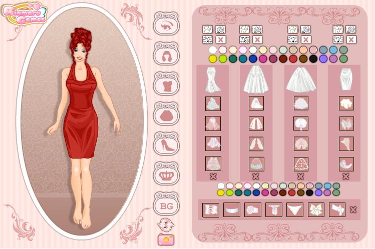 Игра Wedding dress creator онлайн
