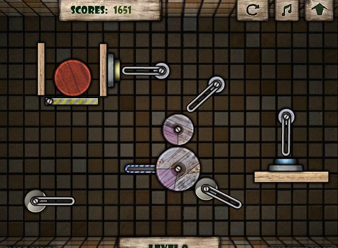 Игра Wooden Rolls онлайн