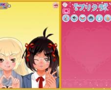 Игра Аниме-подружки онлайн