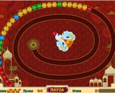 Игра Волшебные индийские шарики онлайн