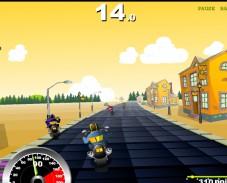 Игра Гонка на чопперах онлайн