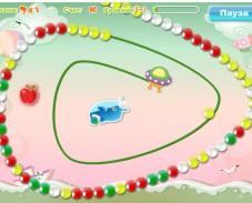 Игра Дельфин и шарики онлайн