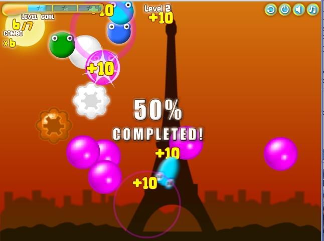 Игра Летающие конфетки онлайн