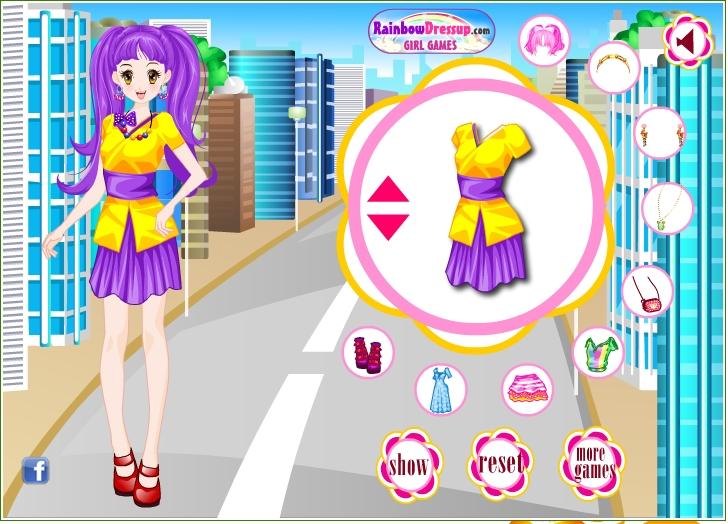 Игра Мода в Токио онлайн