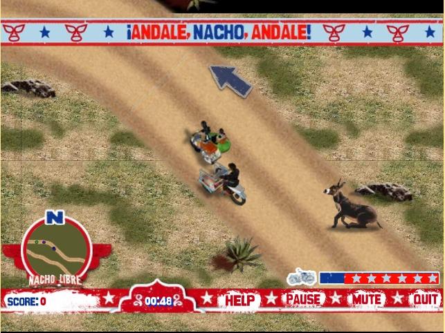 Игра Начо Либре онлайн