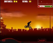 Игра Ночной BMX онлайн