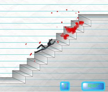 Игра Падение с лестницы онлайн