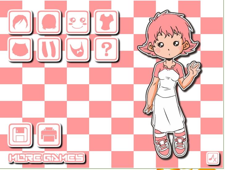 Игра Розовая няшка онлайн