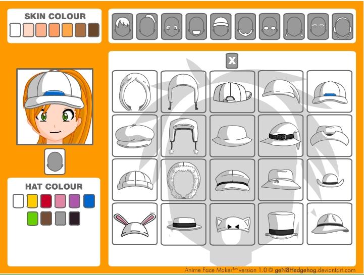 Игра Создание аниме-аватарок онлайн
