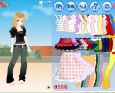 Игра Стильная анимешка онлайн