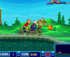 Игра Сырные гонки онлайн