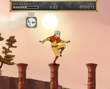 Игра Тренировка Аанга онлайн