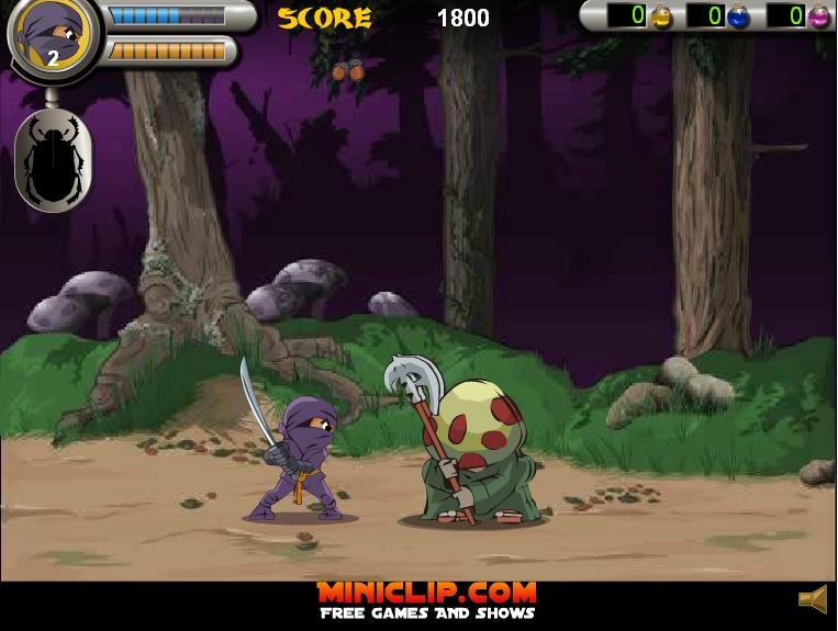 Игра 3 Foot Ninja 2 онлайн