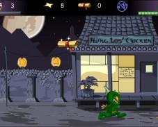 Игра 3 Foot Ninja онлайн