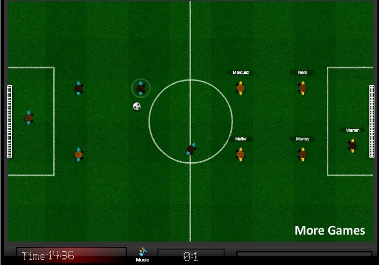 Игра 5 a Side Footy онлайн