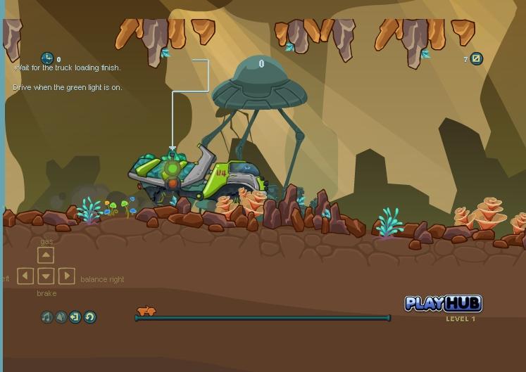 Игра Alien Truck онлайн