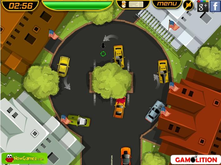 Игра American Muscle Car Parking онлайн