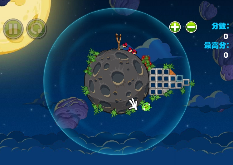 Игра Angry Birds Space онлайн