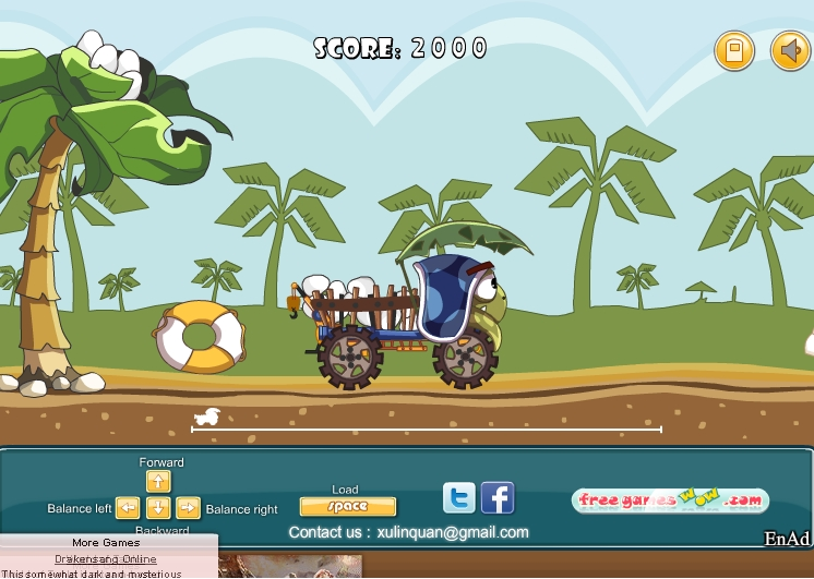 Игра Angry Turtle Delivery онлайн