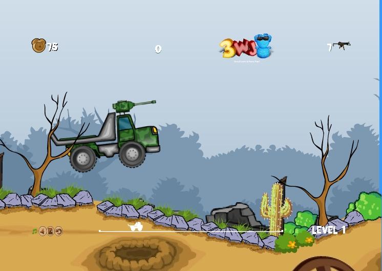 Игра Army Truck онлайн