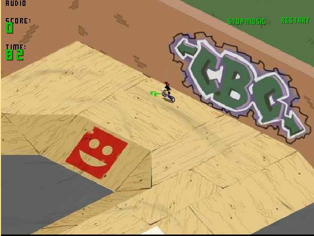 Игра BMX парк онлайн