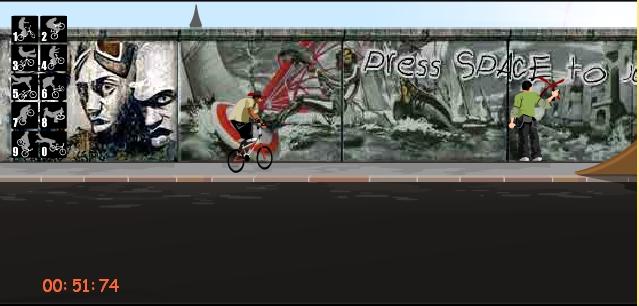 Игра BMX трюки онлайн
