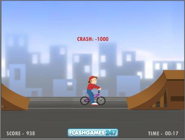 Игра BMX Boy онлайн