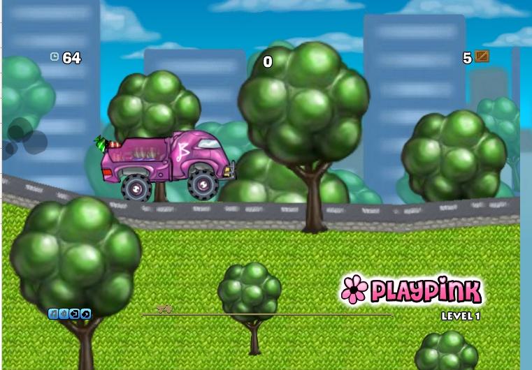 Игра Barbie Truck онлайн