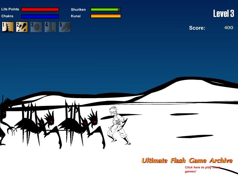 Игра Baruto онлайн