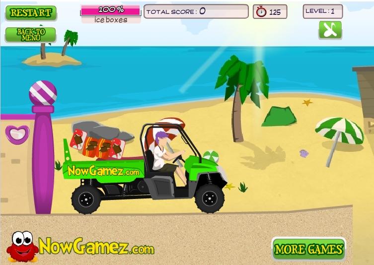 Игра Beach Buggy онлайн