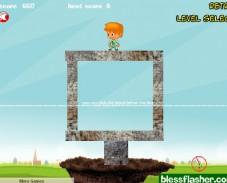 Игра Bieber Save Land онлайн