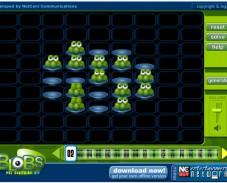 Игра Blobs 2 — Peg Solitaire онлайн