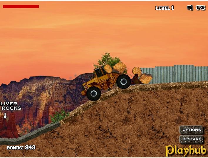 Игра Bulldozer Mania онлайн