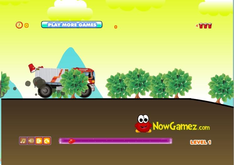 Игра Cargo Fire Truck онлайн