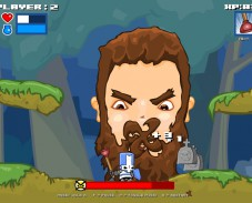 Игра Castle Crashing the Beard онлайн