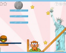 Игра Cat around the World онлайн