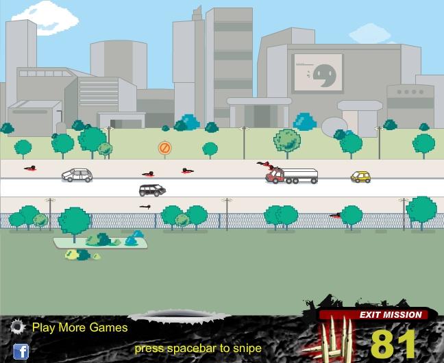 Игра City Sniper онлайн