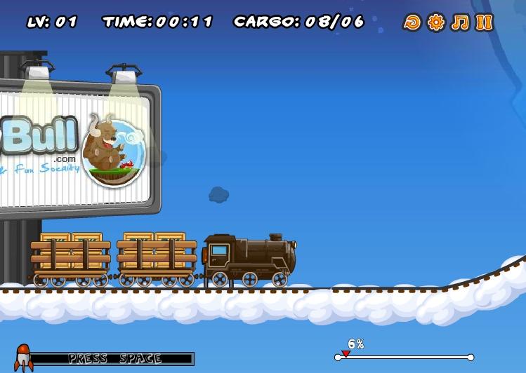 Игра Coal Express 4 онлайн