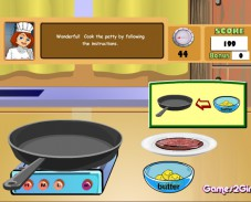 Игра Cooking Show — Cheese Burger онлайн