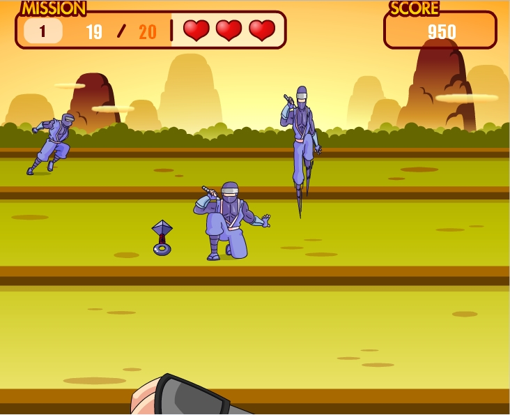 Игра Death to ninja онлайн