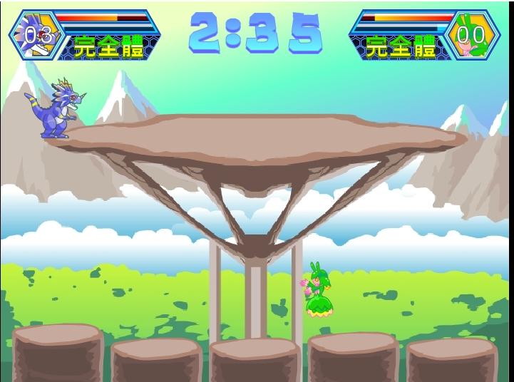 Игра Digital Baby Fighting 3 онлайн