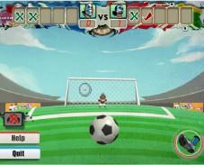 Игра EURO Shoot-out 2012 онлайн